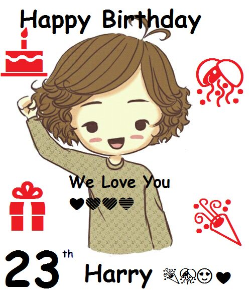 Happy Birthday! I love you I hope you will be happy in your day       i love you