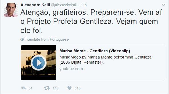 #Kalil manda indireta para Dória e anuncia que vai incentivar grafites em #BH https://t.co/ynOPTa72iX