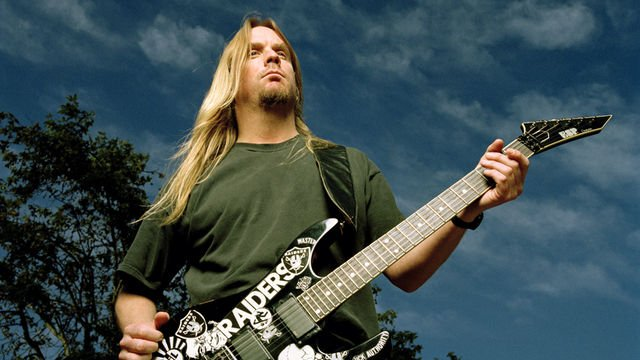 Happy birthday Jeff Hanneman! Gone but never forgotten