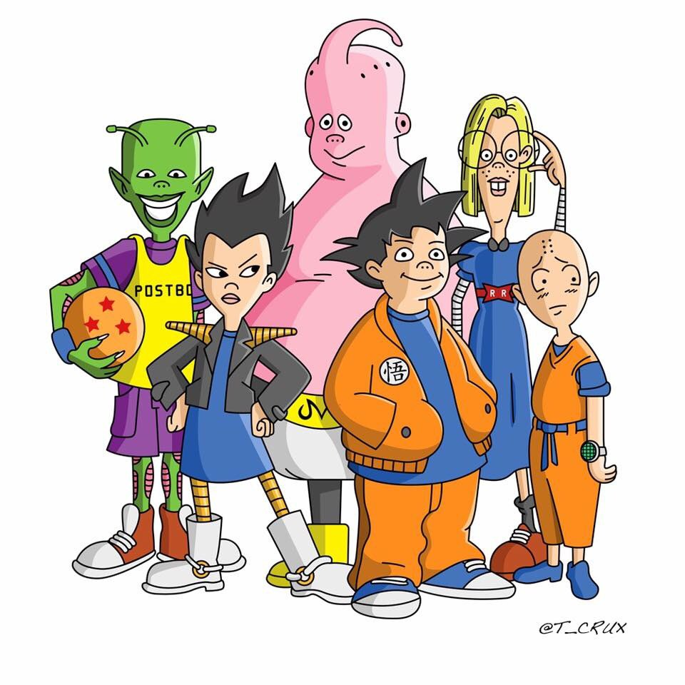 This shit is dope. Recess x DBZ https://t.co/kABE0VKCXM