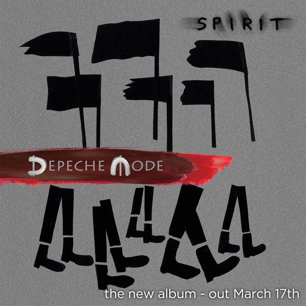 """New #DepecheMode studio album """"Spirit"""" out globally March 17th on @ColumbiaRecords. https://t.co/88eEMHchz2"""
