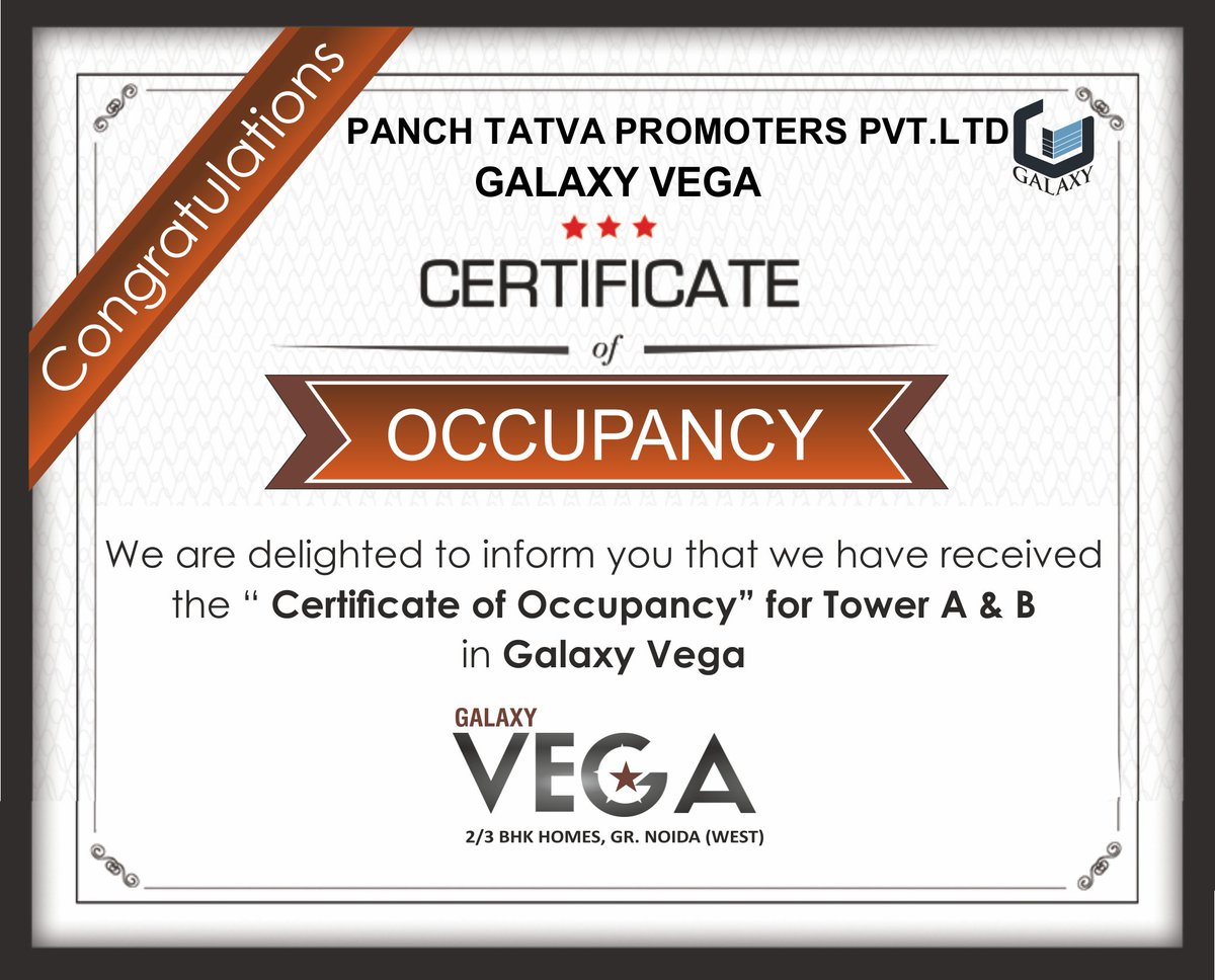 The galaxy group on twitter occupancy certificate for galaxy the galaxy group on twitter occupancy certificate for galaxy vega thegalaxygroup property galaxyvega certificate dreamhome occupancy xflitez Gallery