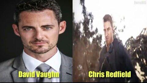 Chris Redfield On Twitter David Vaughn Chris Redfield Voice