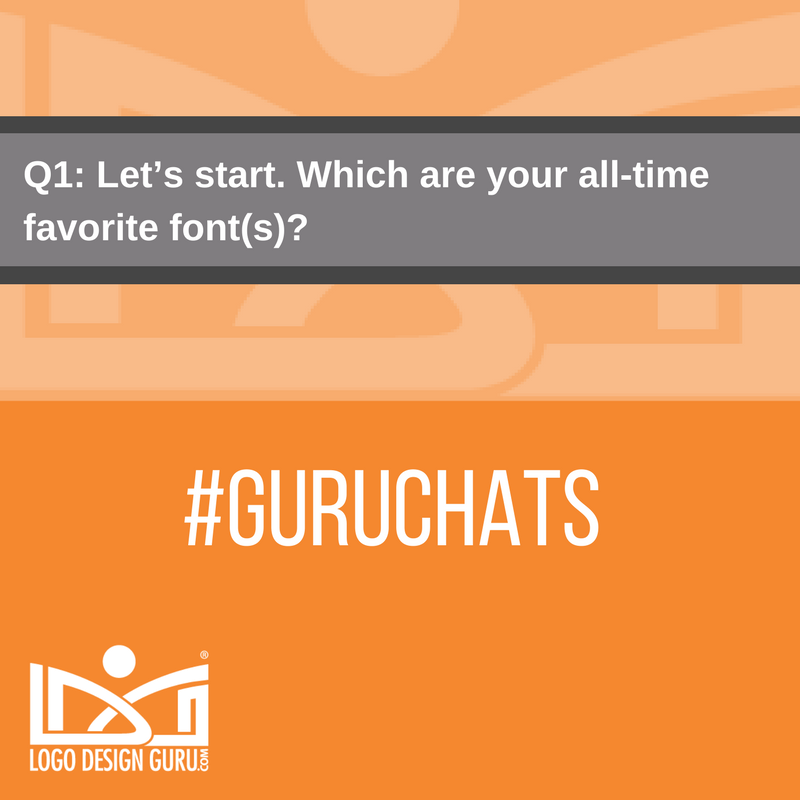 Q1: Let's start. Which are your all-time favorite font(s)? #GuruChats https://t.co/8cg8y3RQKf