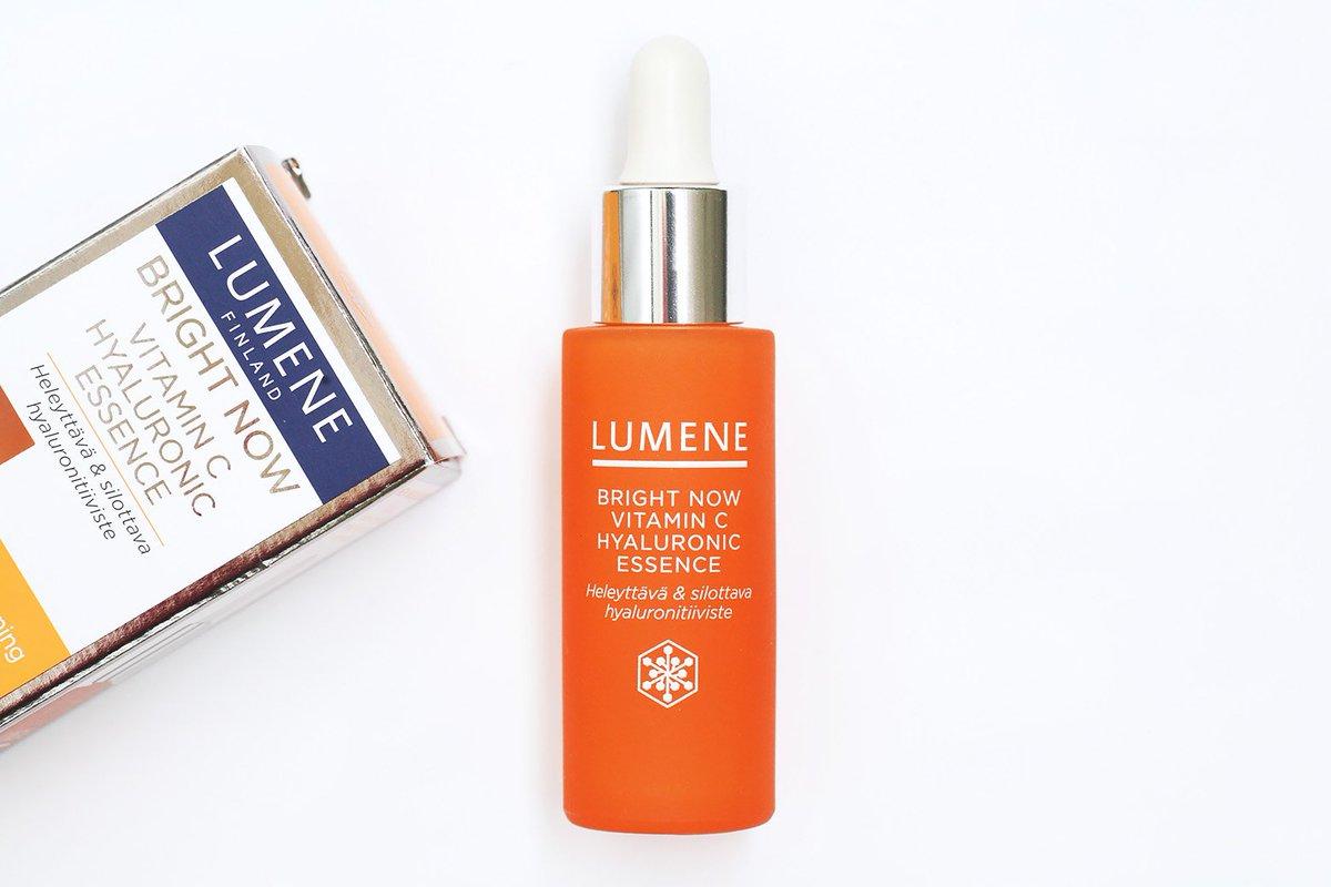 lumene bright now vitamin c spf 15 придающий сияние дневной крем