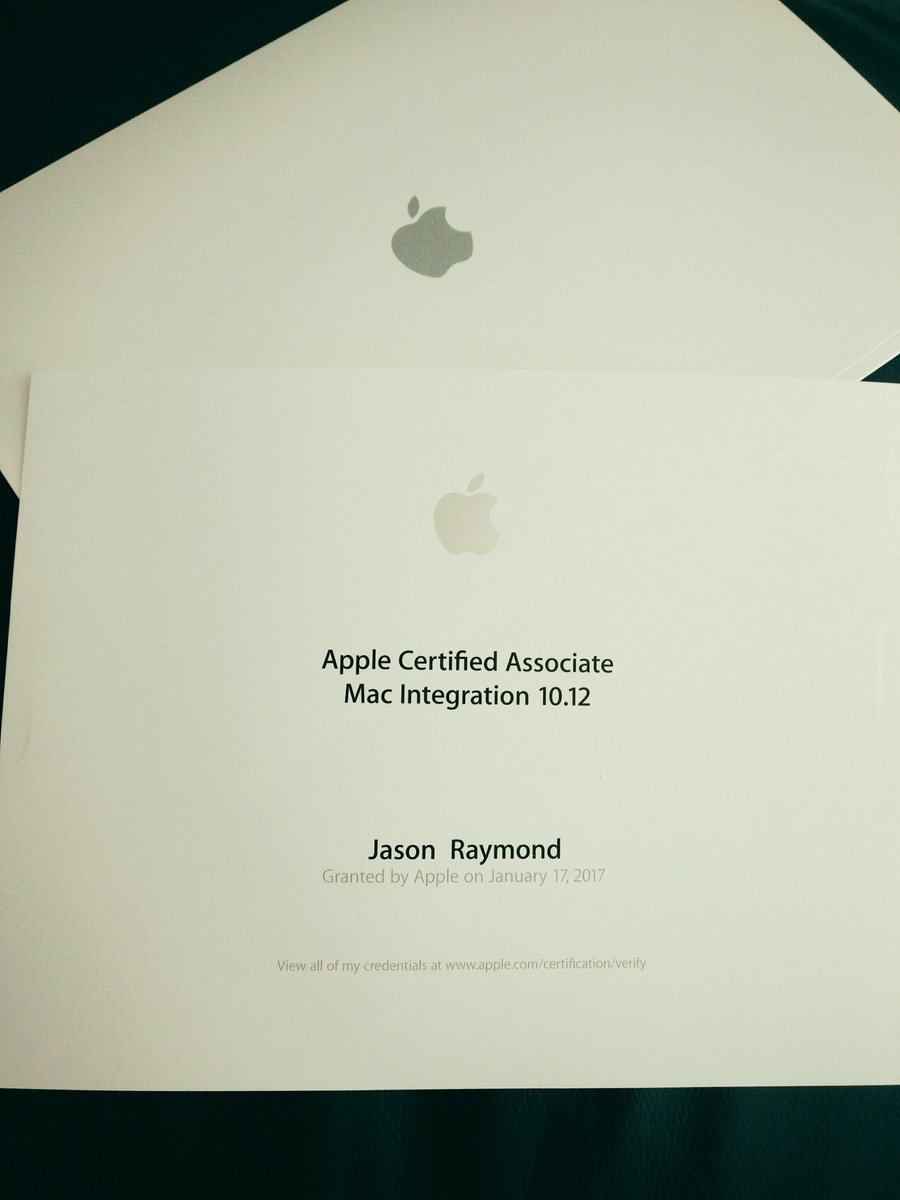 Scheme52 Ltd On Twitter Apple Certificate Arrived In The Post