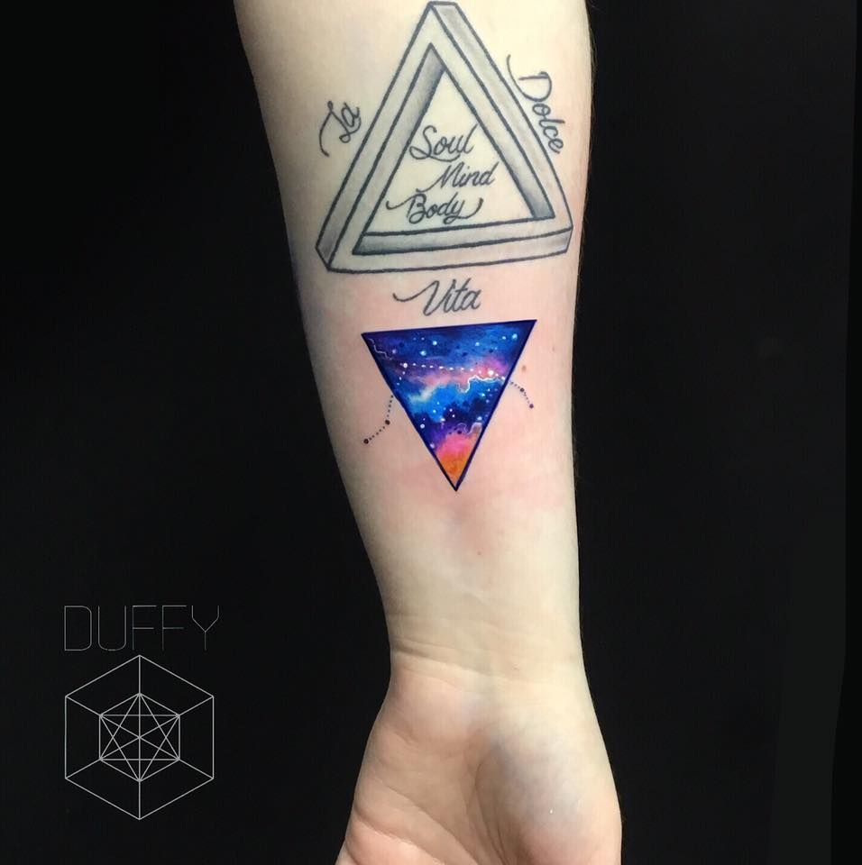 triangle tattoo 34