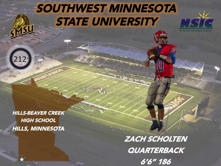 Smsu Football On Twitter Let S Welcome Zach To The 212offense And