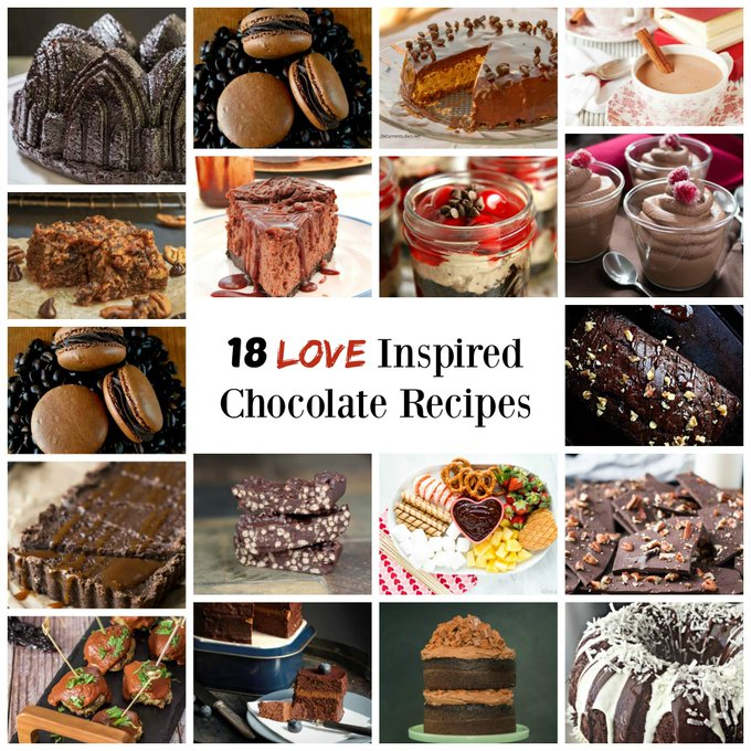 18 Love Inspired Chocolate Recipes