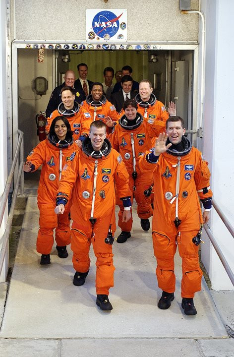 Remembering the 7 astronauts lost aboard Columbia 14 years ago today. They were brave explorers and really good people.