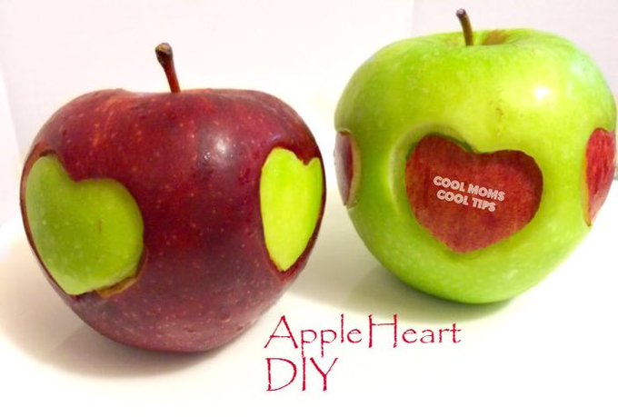 Apple Heart DIY