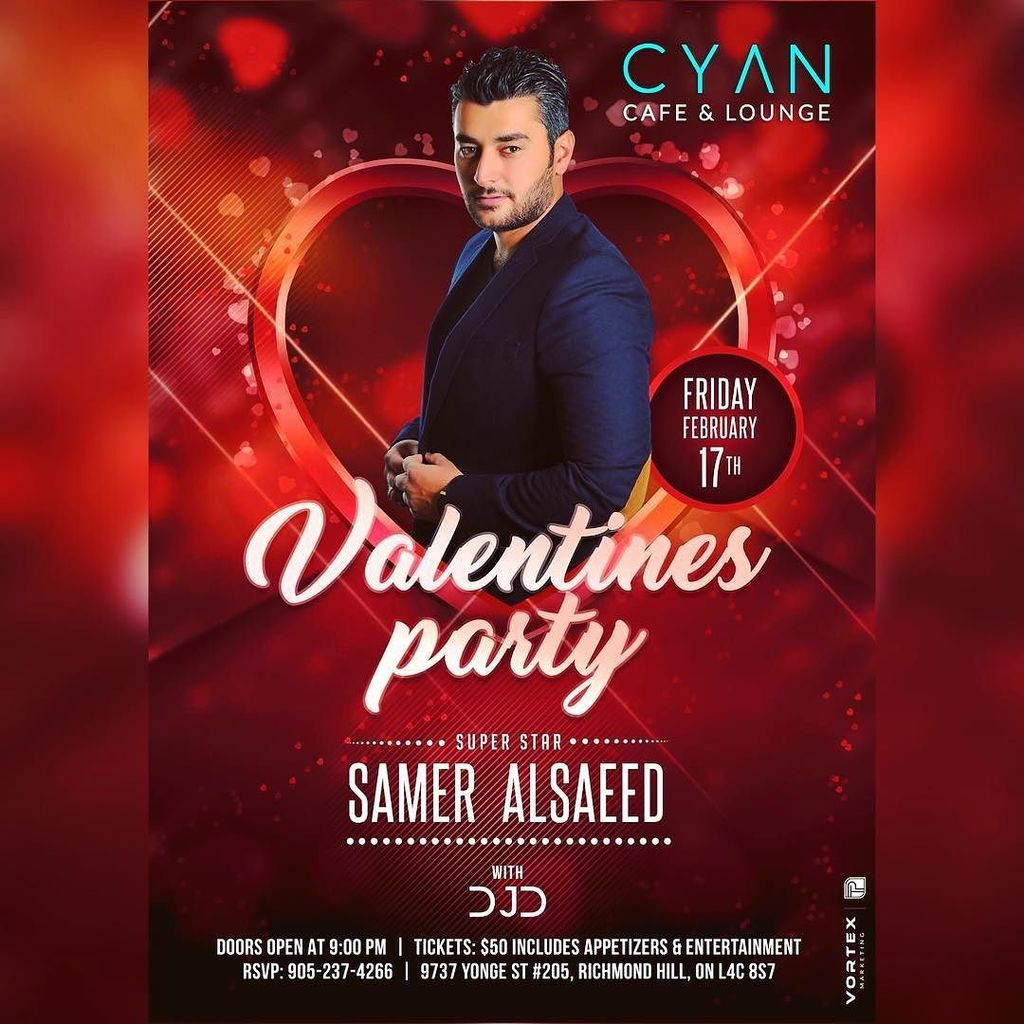 """cyan cafe & lounge on twitter: """"📢 the biggest party of the year"""