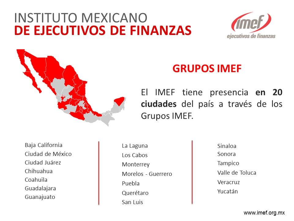 Con la apertura del Grupo Sinaloa, el IMEF suma 20 representaciones en el país: https://t.co/lncQo9j2PV https://t.co/G6sOJlmCHr