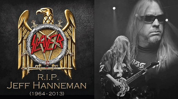 """Metaltitans \""""Happy Birthday\"""" shout out today to Jeff Hanneman of Gone, but never forgotten."""