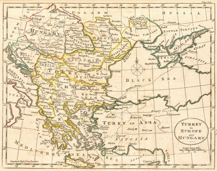 Map Of Europe 1780.Ottoman Imperial Archives On Twitter Map Of The Ottoman Empire In