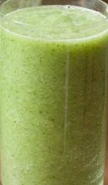 Celery, Pineapple, Ginger Green Smoothie