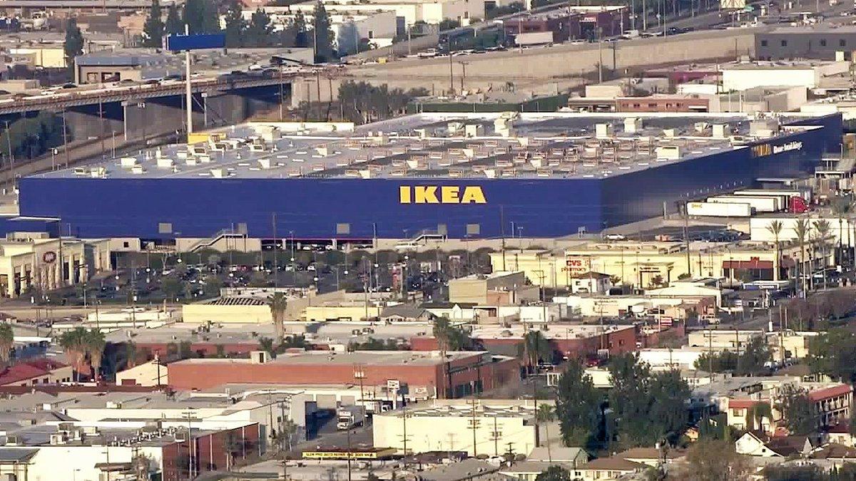 ktla on twitter massive new 456 000 square foot ikea set to open feb 8 in burbank https t. Black Bedroom Furniture Sets. Home Design Ideas