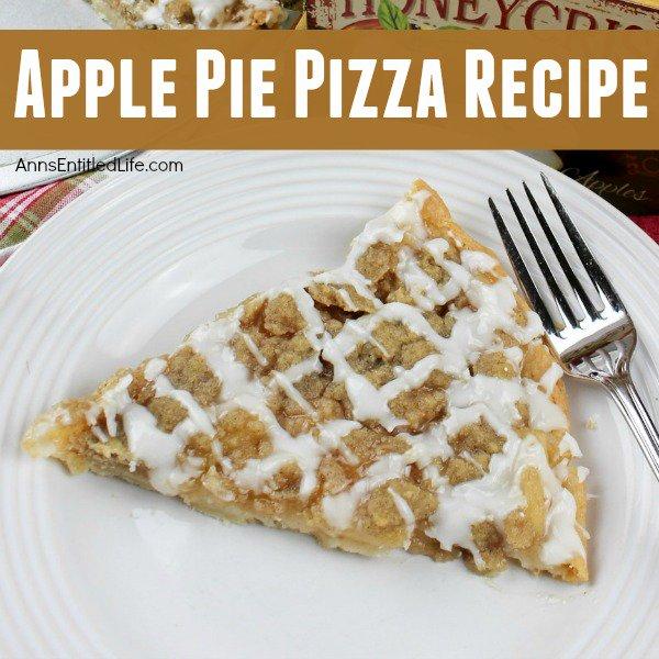 Apple Pie Pizza Recipe