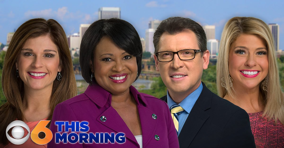 LIVE: Watch @CBS6 News at 5:30 a.m. with @RobCardwellCBS6 and @RebaCBS6 on TV and at https://t.co/HUS18vwJLw  https://t.co/RJIt5frzCC