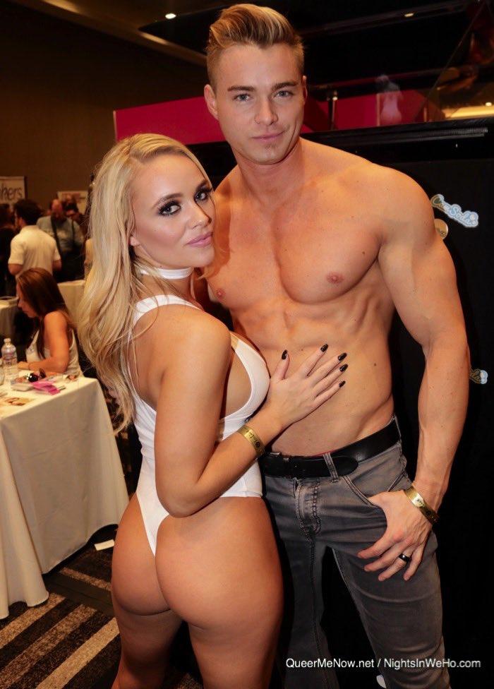 Horny couple seduce