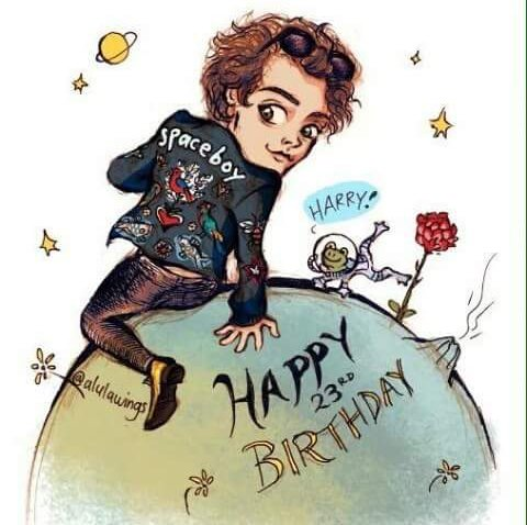 Happy Birthday to youuuuu Happy Birthday dear Harry Happy Birthday to youuuuu All the love. H