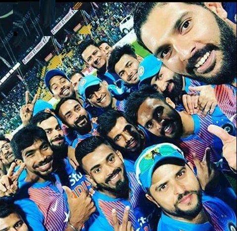 Winning Team Selfie. Proud Moment!!