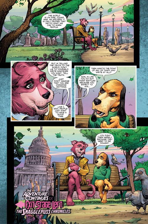 Just released: Snagglepuss first look from DC. Yes, this is real. https://t.co/xWKIeDK5c1