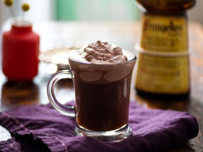 Everything Nice (Spiced-Rum Coffee With Butterscotch Whipped Cream)