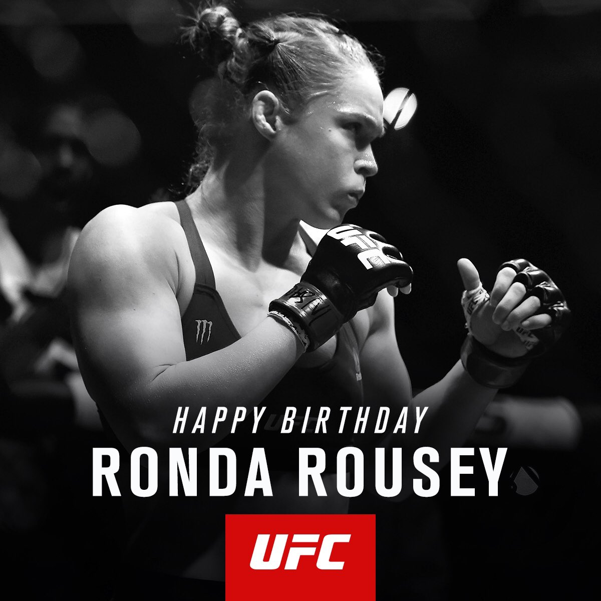 Ufc On Twitter Rt To Wish Rowdy Rondarousey A Happy