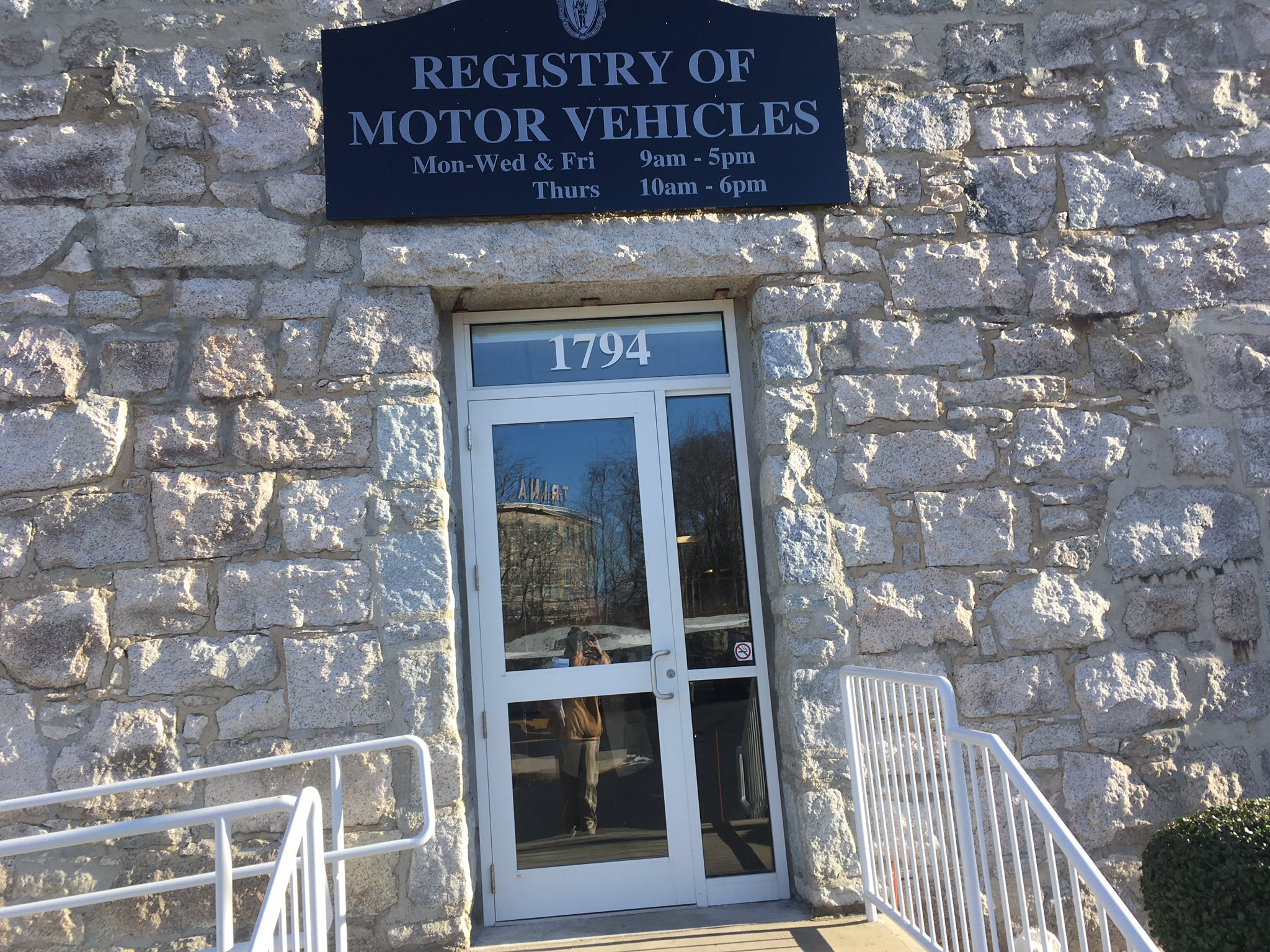 "Jon Root on Twitter: ""Renewing driver license at #fallriver RMV. No"
