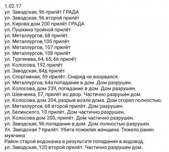 ОБСЕ зафиксировала 10 330 взрывов в Донецкой области 31 января - Цензор.НЕТ 4953