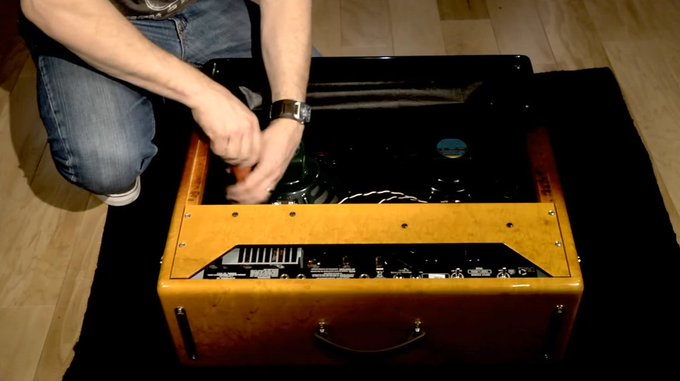 How To: Changing Amplifier Speakers