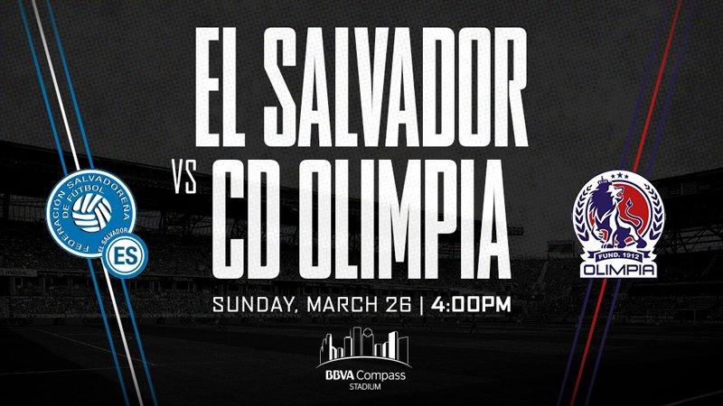 Juego amistoso contra Olimpia de Honduras el domingo 26 de marzo del 2017. C3mtpaBXAAM79gD