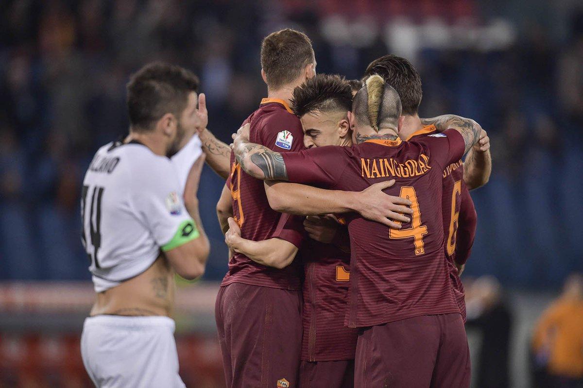 Video: AS Roma vs Cesena