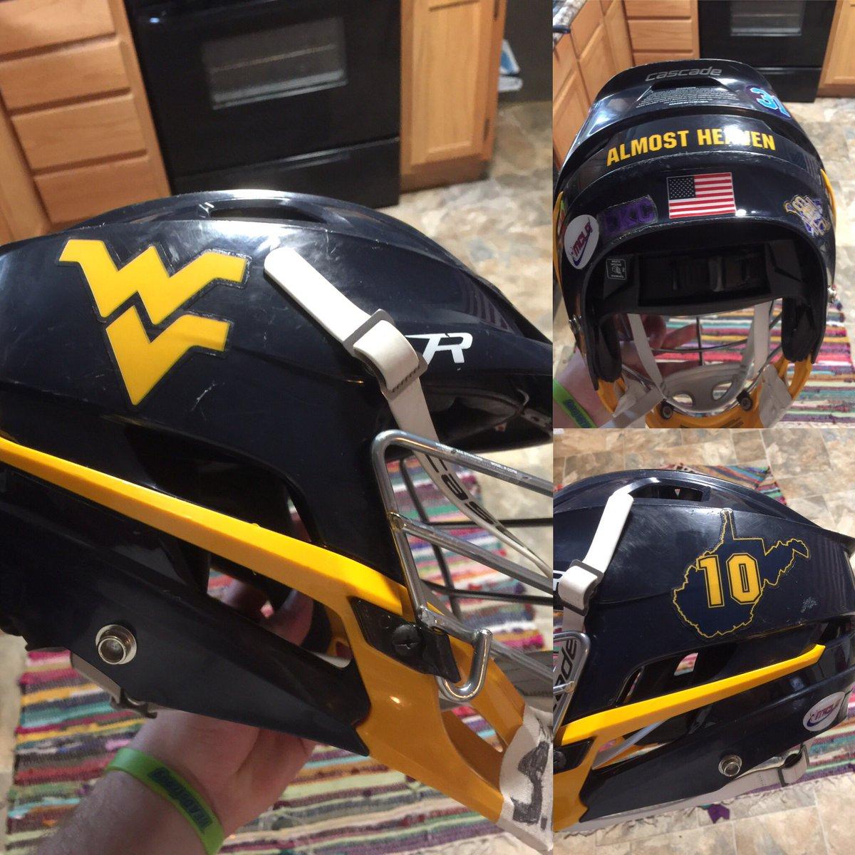 Lacrosse Helmet Stickers Satu Sticker