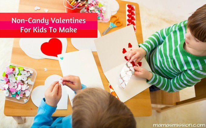 Fun Non-Candy Valentines For Kids To Make