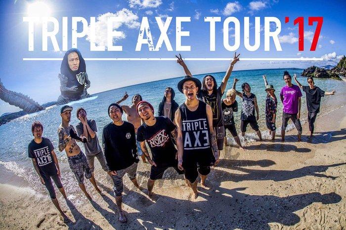 """TRIPLE AXE TOUR'17""、Masato(coldrain…"