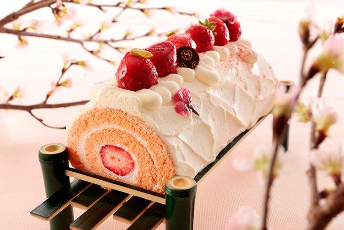 横浜ベイシェラトンの「桜アフタヌーンティー」ロールケーキやカクテルも fashion-press.n…