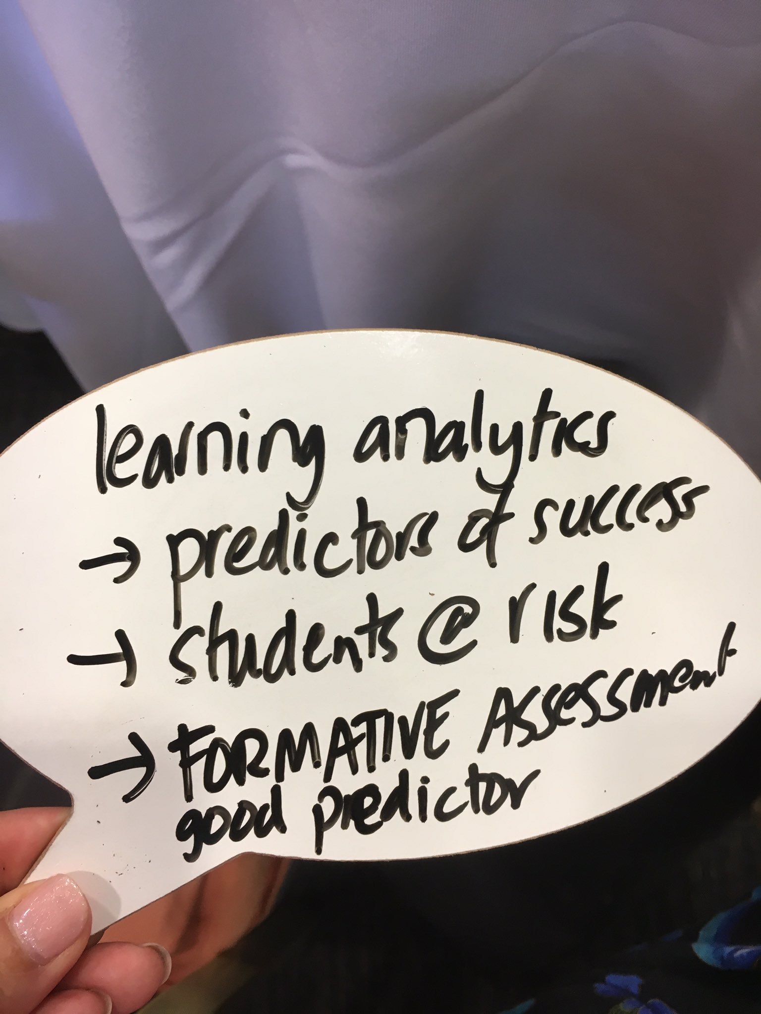 According to #drsimonbedford of @UOW #talisinsight #learninganalytics predictors of success & at risk https://t.co/tZpiCOrags