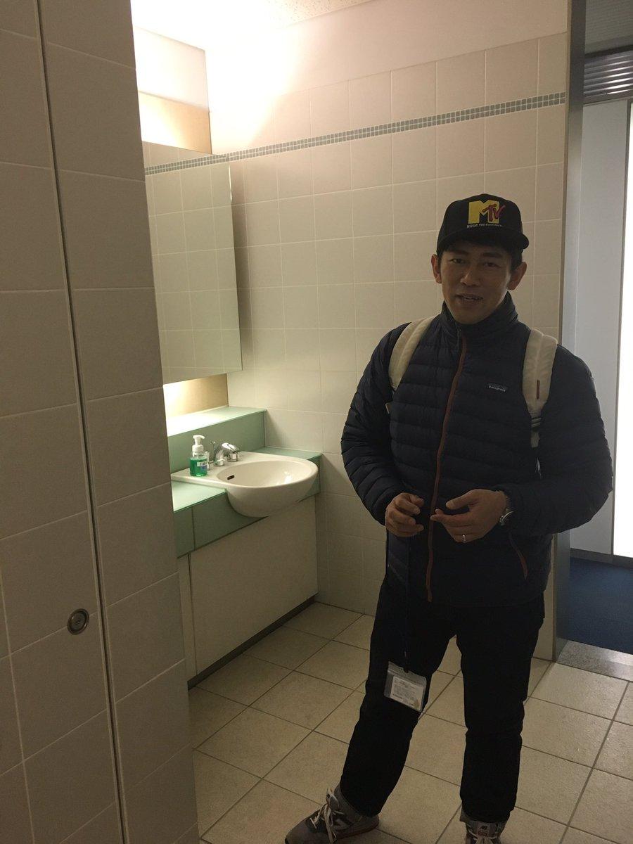 トイレの大木さん。