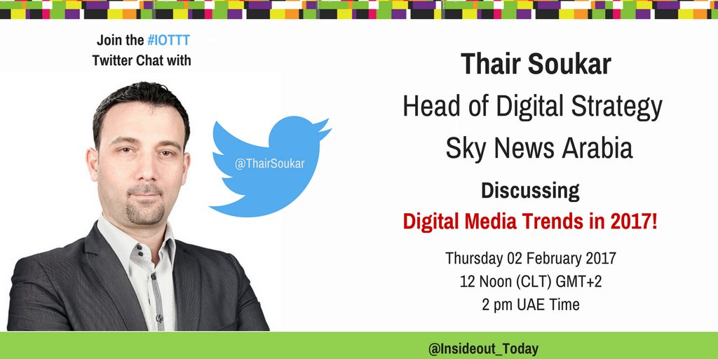 Thumbnail for Digital Media Trends in 2017 Twitter Chat
