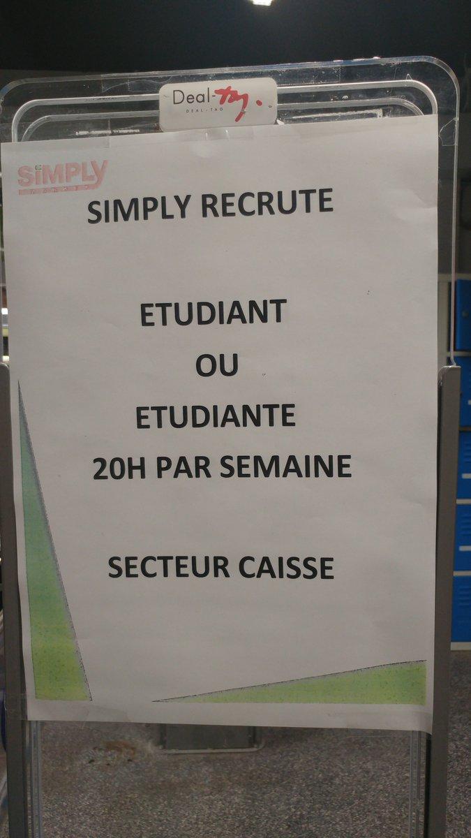 Auchan recrute auchanrecrute twitter - Auchan recrutement etudiant ...