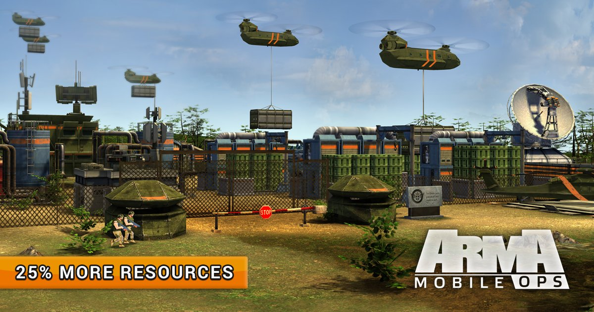"""Arma Mobile Ops on Twitter: """"More resources to every Commander! The event  is time-limited - do not miss out! #Play #AMO #Game… """""""