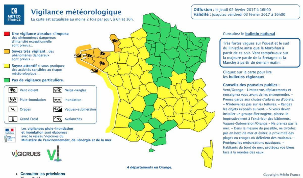 Ministère De Lintérieur On Twitter At Meteofrance Place 4