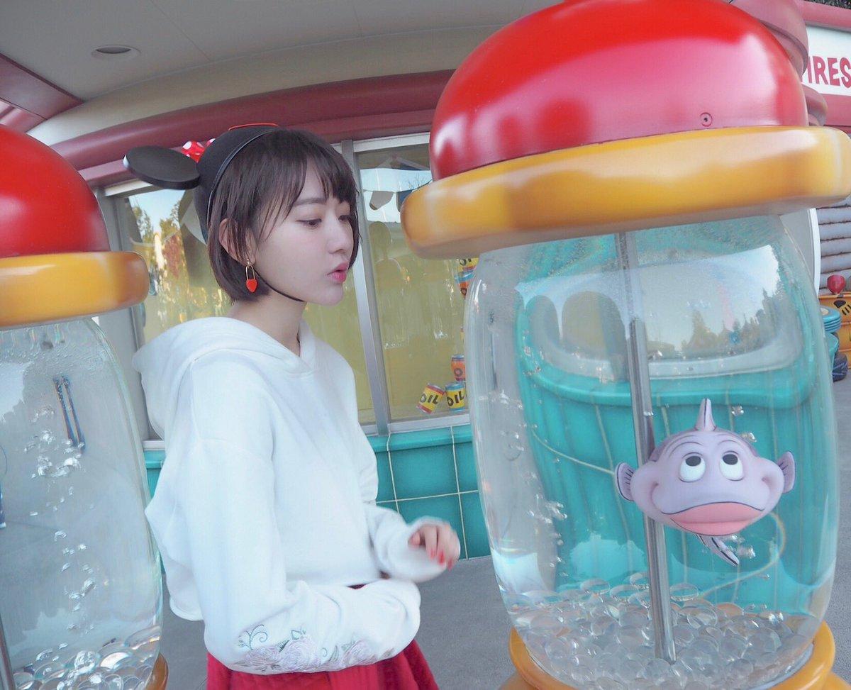 """宮脇 咲良 on twitter: """"今日はディズニーに行ってきました? びっくり"""