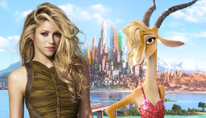 Happy birthday to the voice of Gazelle in Shakira!
