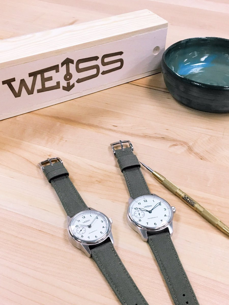 655005fdf Weiss] Weiss Watch Company introduces their 38mm Automatic Issue ...