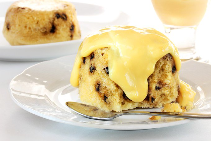 Instant Pot Spotted Dick Sponge Pudding