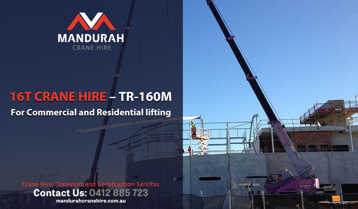 Crane Hire Mandurah