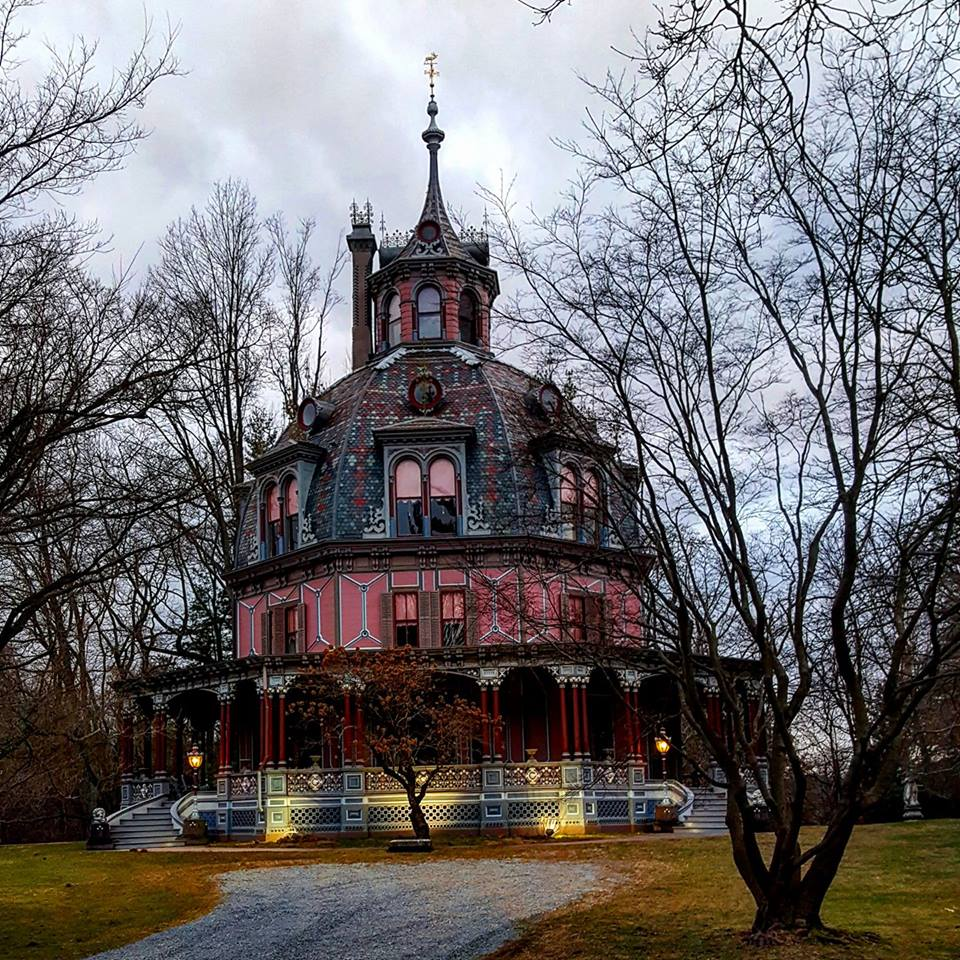 The Armour Stiner Octagon House In Irvington News 12 Wc Photo Of Day Christine La For Her A Historical